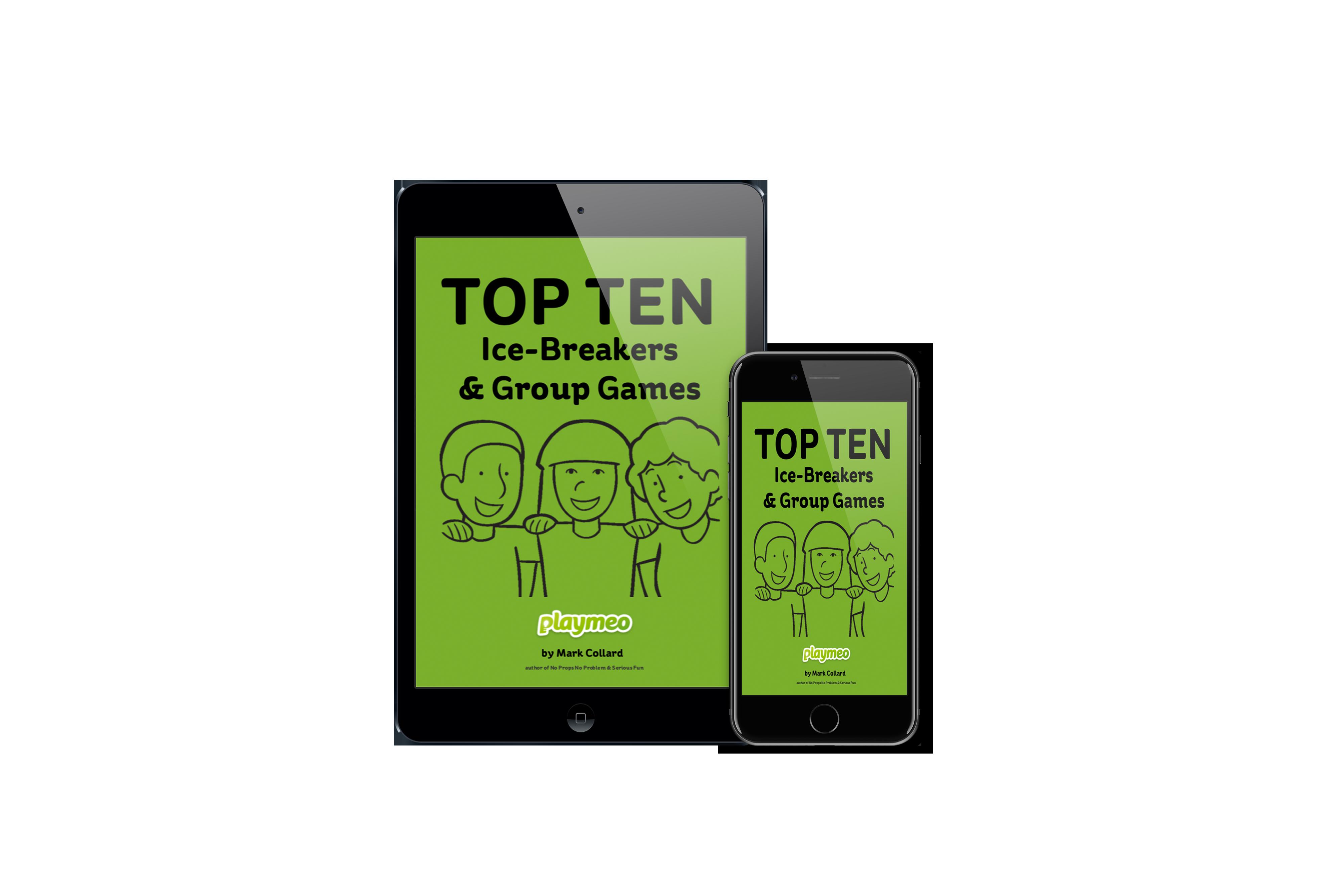 Top Ten Ice-Breakers & Group Games ebook by Mark Collard